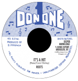 Roots - It's A Hit / dub (Don One / DKR) 7""